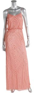 Aidan Mattox Beaded Spaghetti Strap Dress