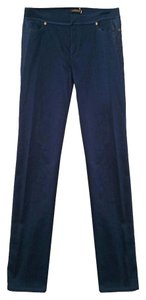 Roberto Cavalli Straight Pants Navy