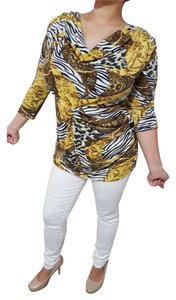 Boho Chic Plus-size Shell Top