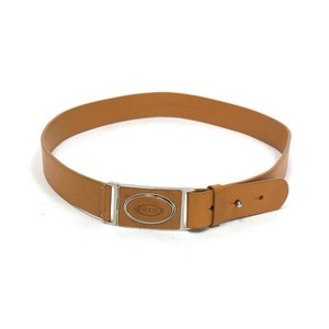 Tod's Tod's Camel Brown Leather Belt