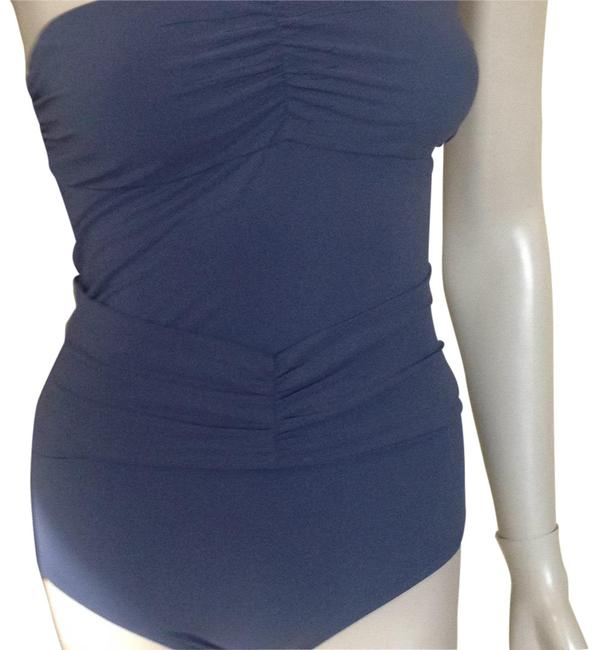 Item - Gray New Drapey Swimsuit One-piece Bathing Suit Size 6 (S)