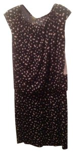 Black/Tan Polka-Dots Maxi Dress by Taylor
