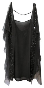 CoSTUME NATIONAL New Tags Sequins Beads Formal Tunic