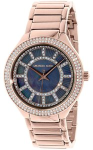 Michael Kors Michael Kors Women's MK3397 'Kerry' Crystal Rose-Tone Stainless Steel Watch
