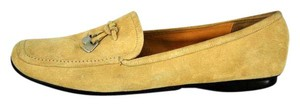 Prada Suede Moccasin Loafer Tan Flats