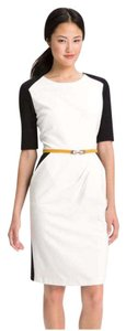 Maggy London Suzy Chin Office Colorblock Belted Classy Cotton Dress