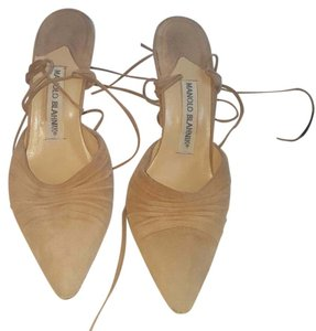 Manolo Blahnik Light brown Sandals