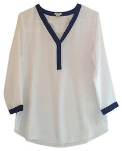 J.Crew & Navy Top White