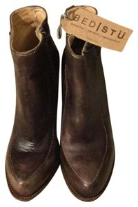Bed|Stü Isla Ankle Brown Driftwood Boots