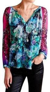 Anthropologie Happy Colors Top Multi-color