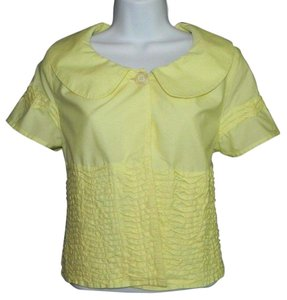 Persaman New York Top Yellow