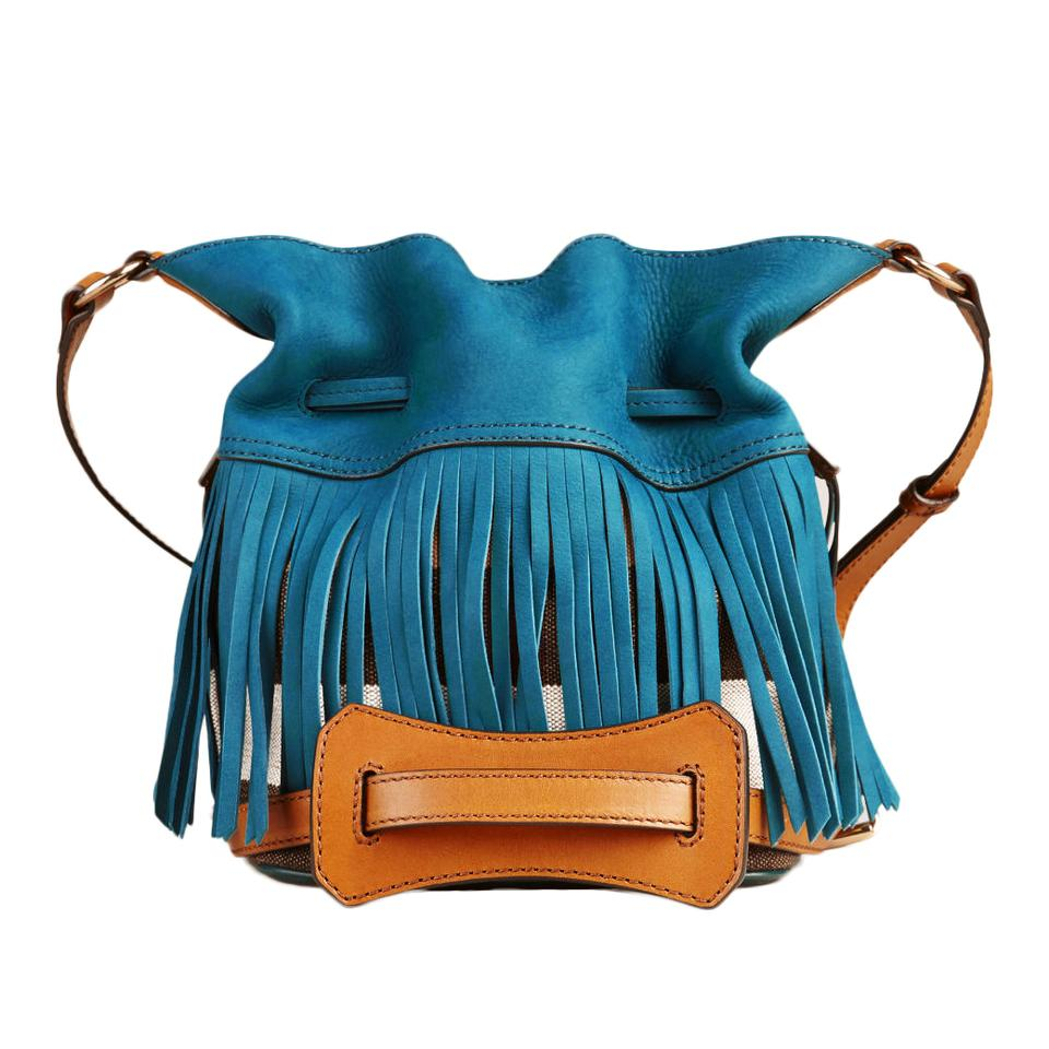 Burberry Purse With Fringe