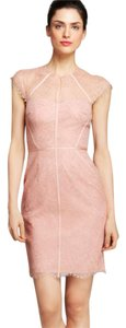 Monique Lhuillier Sheath Lace Dress