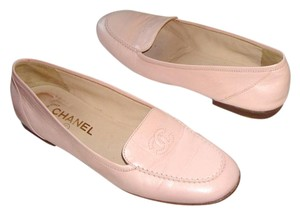 Chanel 1990s Karl Lagerfeld Coco Pink Flats