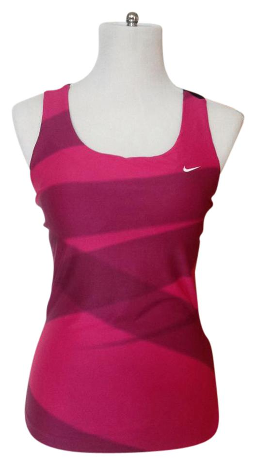 2b03f96fb7749 Nike Hot Pink Workout Dry-fit Activewear Top Size 8 (M