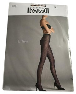 Wolford Wolford Lilien Tights Beige Black S