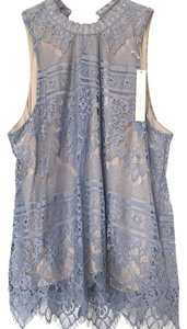 LC Lauren Conrad Top light blue