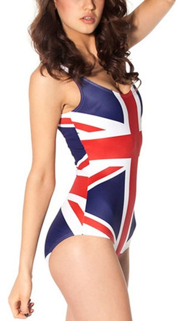 Other Free Shipping New' S UK Flag Teddy Bikini Item No. : LC40862