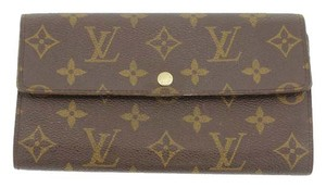 Louis Vuitton Louis Vuitton Monogram Portefeuille Sarah Long Bifold Wallet M61734 LV