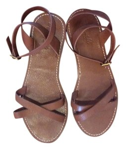 Madewell Leather Flat Brown Sandals