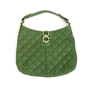 J.Crew Leather Quilted Shoulder Bag