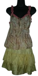 Stella Forest Silk Paisley Print Top & Skirt