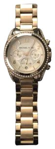 Michael Kors Michael Kors Gold watch with Diamonds