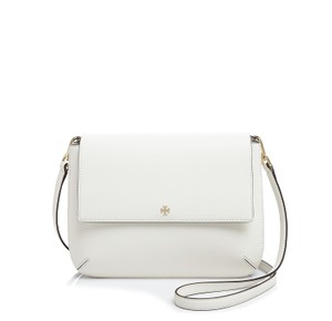 Tory Burch Robinson Saffiano Leather Messenger Cross Body Bag