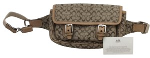 Coach Brown/Tan Travel Bag