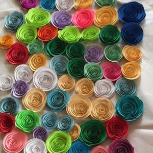 100 Paper Flowers