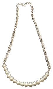 Windsor Windsor Pearl String Necklace with Silver Chain