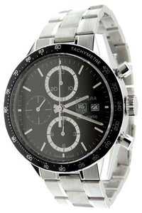 TAG Heuer Tag Heuer Carrera CV2010 Automatic Chronograph Cal16 Date 42mm Watch &