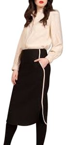 troubadour New With Tags Wool Pencil 10 Skirt