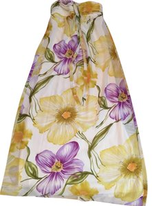 Floral/Multi Maxi Dress by Maurices Floral Maxi Halter Strapless