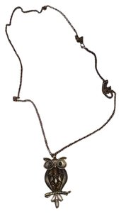 Other Long Owl Necklace