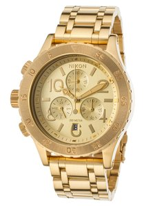 Nixon Nixon Women's 38-20 Gold Chronograph Watch (A404501)