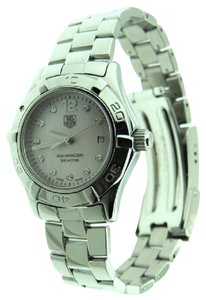 TAG Heuer Tag Heuer AQUARACER Diamond MOP WAF114A SS 28mm Date Watch