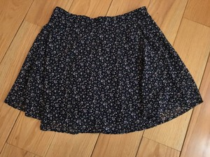 Forever 21 Flowy Floral Mini Skirt Floral/Multi