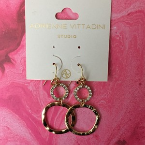 Adrienne Vittadini Adrienne Vittadini gold earrings