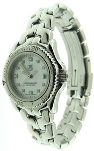TAG Heuer Tag Heuer Link WT1418 Diamond MOP Stainless Steel 28mm Date Watch