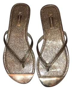 INC International Concepts gold Sandals