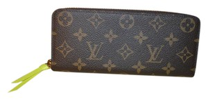 Louis Vuitton BRAND NEW Monogram Clemence Wallet with SOLD OUT Acid Interior