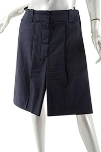 Chloé Chloe Trouser Dress Shorts Navy