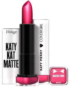 COVERGIRL COVERGIRL Limited Edition Matte Lipstick Katy Perry MAGENTA MINX NEW
