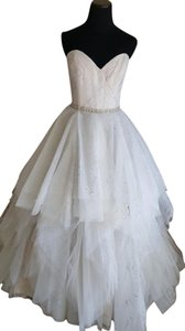 Casablanca 2264 Rosette Wedding Dress