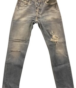 RE/DONE Straight Leg Jeans-Medium Wash