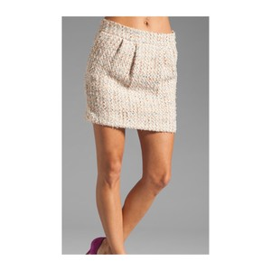 By Malene Birger Mini Skirt Cream