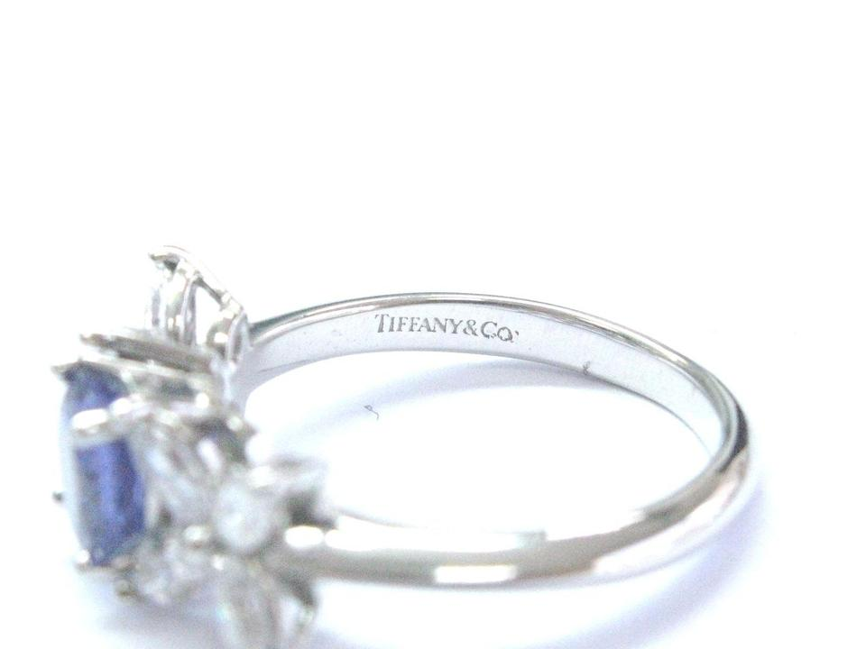 ee1a6090e Tiffany & Co Platinum Victoria Diamond Tanzanite Ring 2.26CT PT950 Image.  123456789