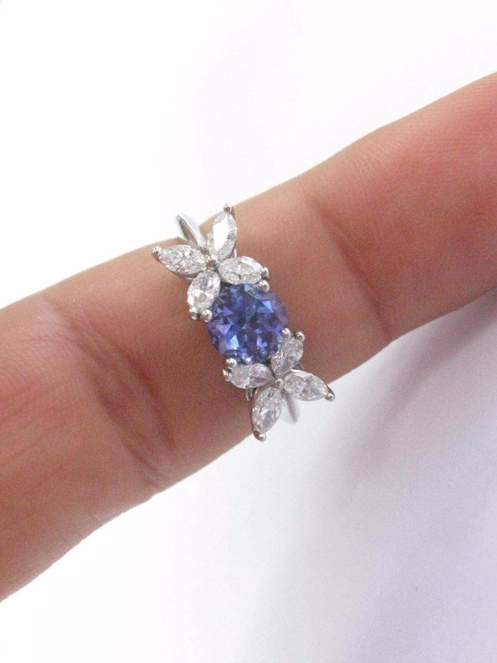 tanzanite diamonds platinum with solestering ed m a usm soleste in ring co tiffany jewelry items and op