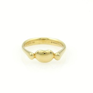 Tiffany & Co. Tiffany & Co. Elsa Peretti 18k Yellow Gold Mini Bean Ring Size 5